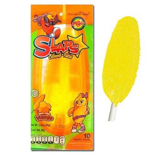 Slaps Lollipop Mango 10 Count