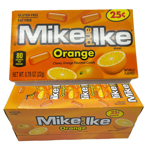 Mike & Ike Orange 24 Count (Pre Priced)