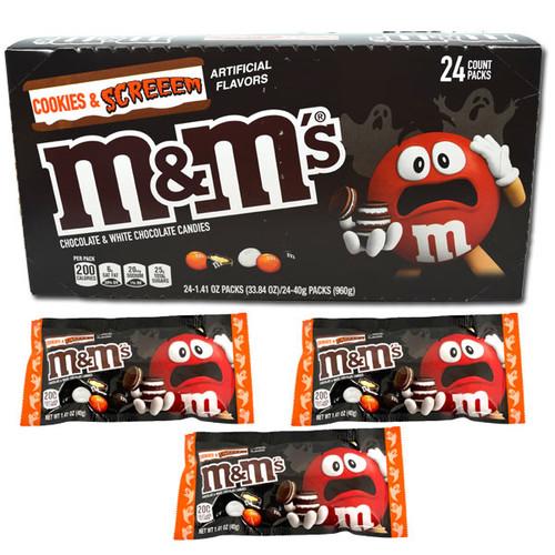 M&M's  Cookies & Screeem 24 Count