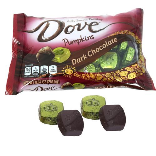 Dove Dark Chocolate Pumpkins 8.87oz Bag