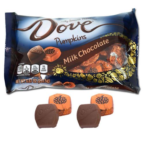 Dove Milk Chocolate Pumpkins 8.87oz Bag