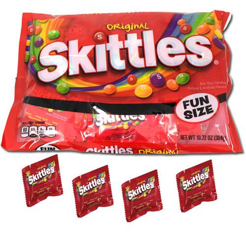 Skittles Fun Size Candies 10.72oz Bag