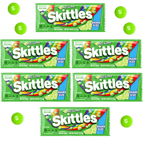 Skittles Lime Share A Size 24 Count