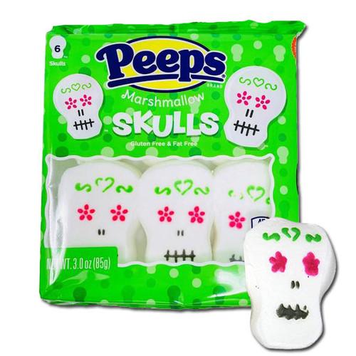 Peep Skulls 6 Count