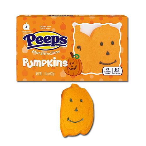 Peeps Pumpkins 3 Count