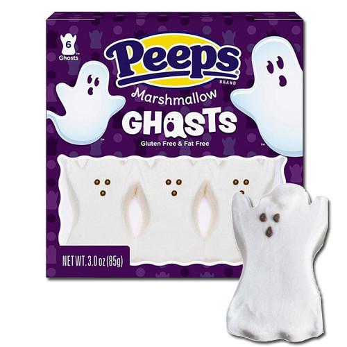 Marshmallow Peeps Ghosts
