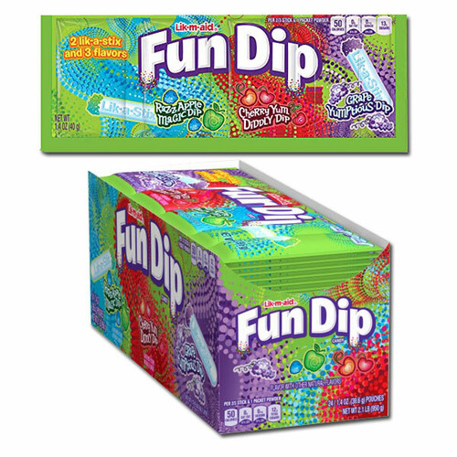 Fun Dip 24 Count (Large Pack)