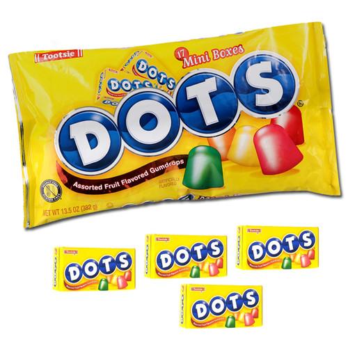 Dots Candy Mini Snack Size 13.5oz bag