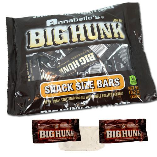 Big Hunk Snack Size Candy Bars 10.2oz
