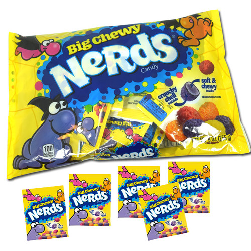 """Nerds Big Chewy """"Snack Size"""" Candy 9oz Bag"""