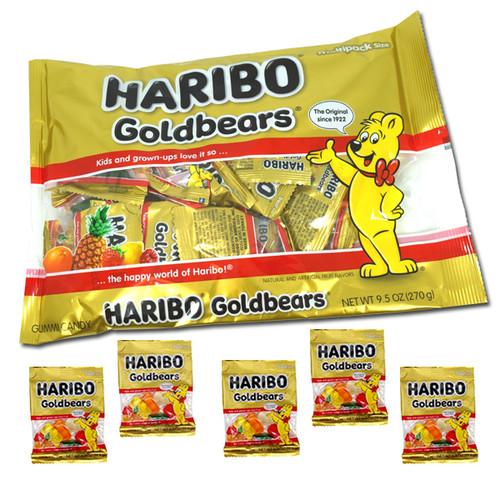 Haribo Gummi Gold Bears Fun Size 9.5oz Bag