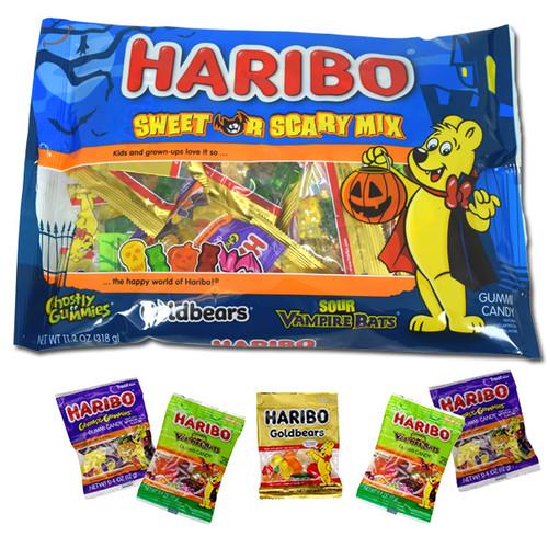 Haribo Sweet & Scary Gummi Candy Assortment