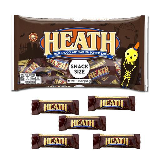 Heath Snack Size Candy Bars 11.5oz Bag