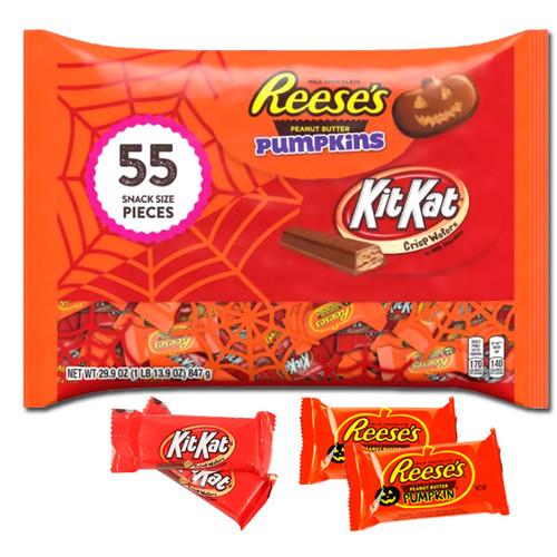 Reese/KitKat Lovers Halloween 55 Count Bag