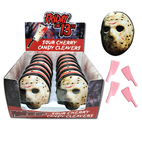Friday The 13th Jason Mask Candy 12 Count