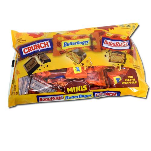 Nestle Harvest Fun Size Assorted Candy Bars 10.5oz Bag