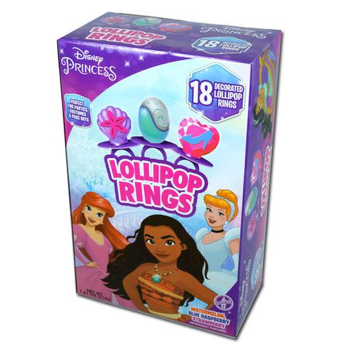 Disney Princess Lollipop Rings 18 Count