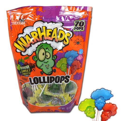 Warheads Halloween lollipops