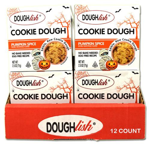 DoughLish Pumpkin Spice 2.5oz 12 Count