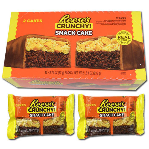 Reese's Crunchy Snack Cakes