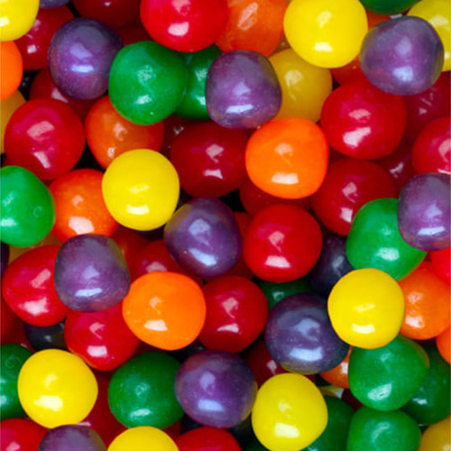 Fruit Sours Assorted Balls 5lb