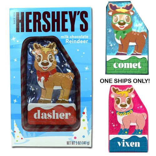 Hershey's Chocolate Reindeer.