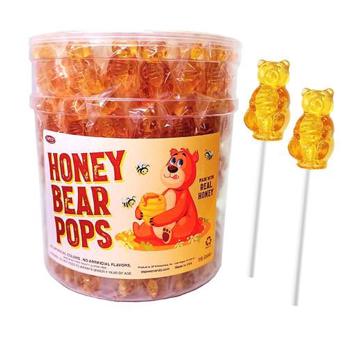 Honey Bear Lollipops