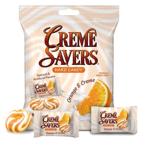 Creme Savers Orange Creme 6.25oz Bag