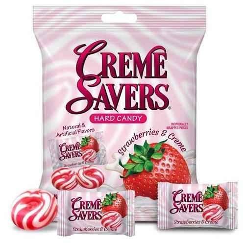 Creme Savers Strawberry Creme 6.25oz Bag