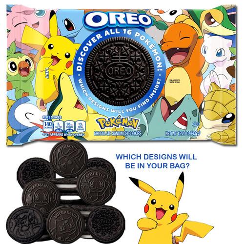 Oreos Pokemon cookies