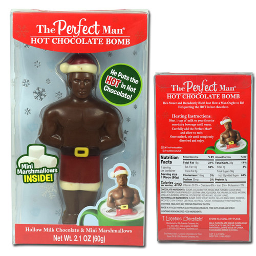 The Perfect Man Hot Chocolate Bomb