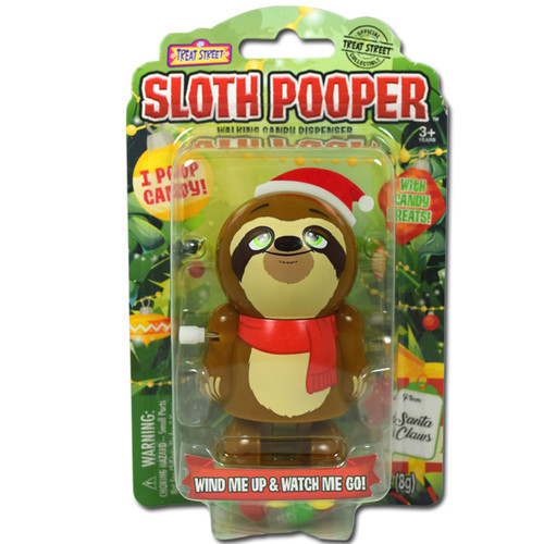 Sloth Pooper With Candy
