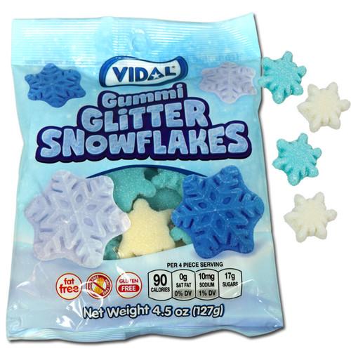 Gummi Glitter Snowflakes
