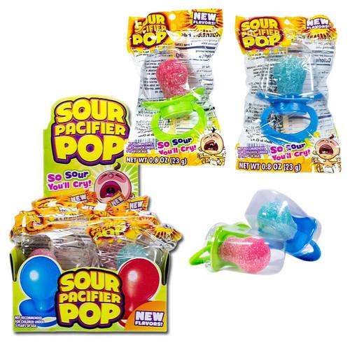 Sour Pacifier Lollipops