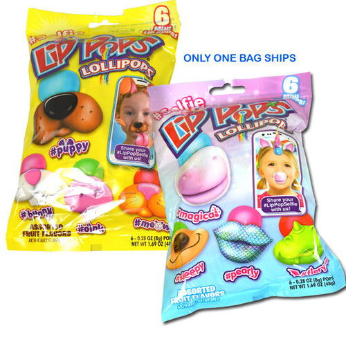 LIp Pop Selfie Lollipops