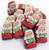 Mini Chocolate Santa's Crisp Kringles 24oz