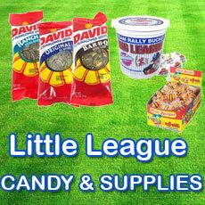 Little League Candy & Supplies