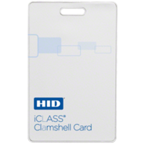 HID iCLASS 2080 Clamshell Card - 2080 (Qty. 100)