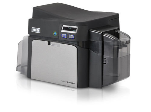 Fargo DTC4250e ID Card Printer with Magnetic Stripe Encoding - Dual-Sided
