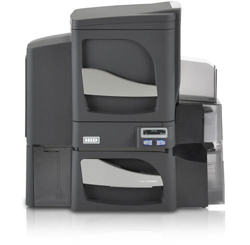 Fargo DTC4500e ID Card Printer with Magnetic Stripe Encoding - Dual-Sided - Single-Side Lamination