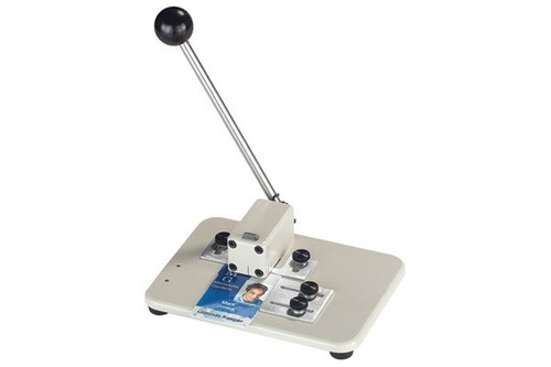 3943-1510 Medium Manual Table Top Slot Punch W/ Adjustable Guides