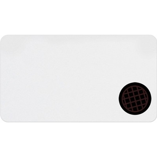 T3971A Thermal-printable Clip-on Badge W/ Expiring Timespot Indicator - Half Day Or One Day. Pkg Of 1,000