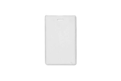 "1840-5057 Heavy-Duty Vinyl Vertical Proximity Card Holder, 2.38"" x 3.75"" - Qty. 100"