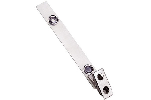 2110-1150 Mylar Strap w/ 2-Hole Clip - QTY. 100