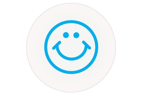 08140 Half-day Smiley Face Timing Cover. Pkg Of 1,000