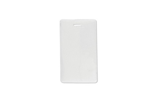 "1840-5055 Vinyl Vertical Proximity Card Holder with Frosted Back, 2.31"" x 3.8"" - Qty. 100"