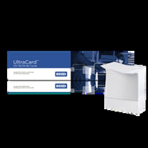 81754 HID® UltraCard® CR80-30 Blank PVC Cards - Qty. Box of 500