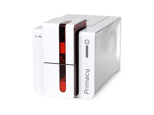 Evolis Primacy ID Card Printer with LCD - Dual Sided - Fire Red