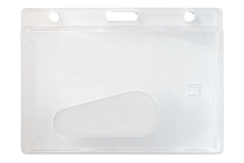 1840-6000 Economy Frosted Horizontal Side-Load Card Dispenser - Qty. 50