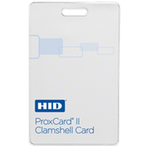 HID Proximity 1326 ProxCard II Clamshell Card (Qty. 100)